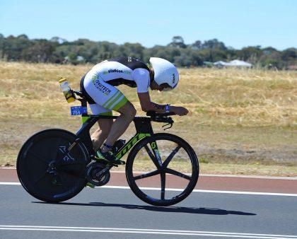 Andreas Fuchs qualifies at Ironman Australia