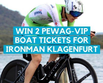 WIN 2 tickets for the PEWAG-VIP Boat @IRONMAN Austria in Klagenfurt