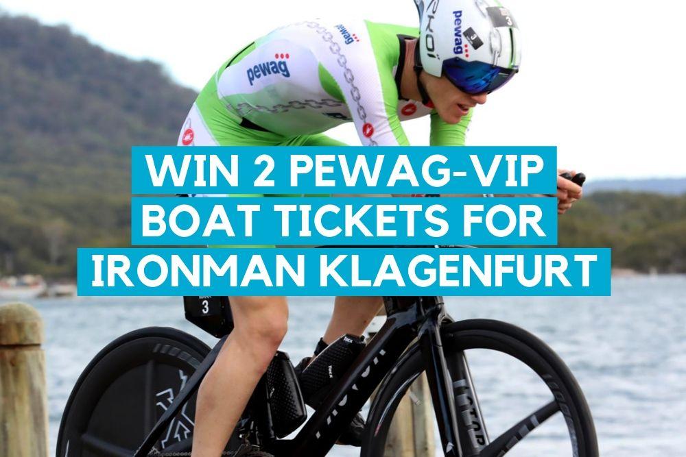 Gewinne 2 Tickets für das PEWAG-VIP Schiff beim IRONMAN Austria in Klagenfurt
