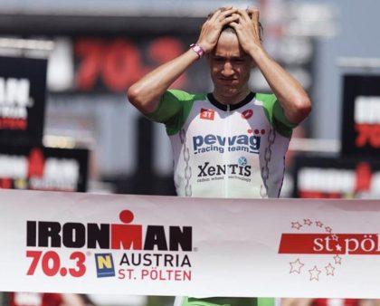 Thomas Steger finished 2nd at IRONMAN Austria 70.3 in St. Pölten