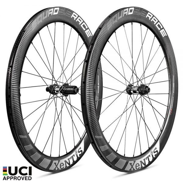 xentis-squad-5-8-race-disc-brake-white-set-wheels