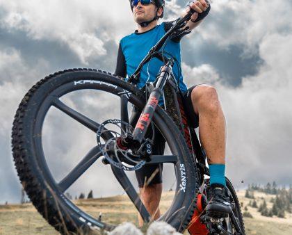 Brand new KappaX monocoque wheel for mountain bike and e-bike