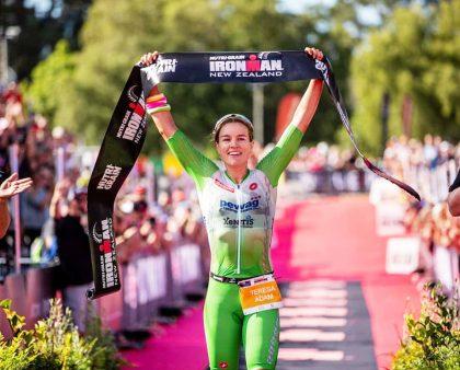 Teresa Adam is the 2020 Ironman New Zealand Champion