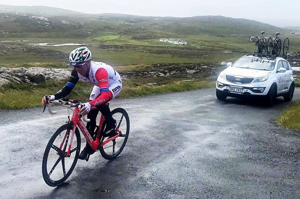 Team Joe Barr has broken the World Ultra Cycling Association Point to Point World Record